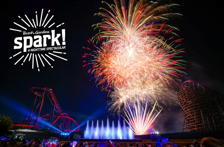 Fireworks from Spark!