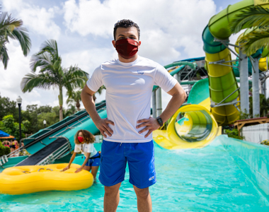 Adventure Island Lifeguard