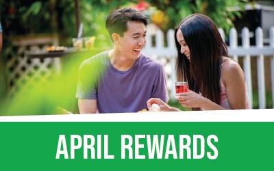 April Rewards