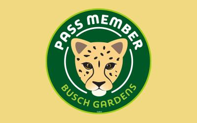 Cheetah Pass Member Magnet