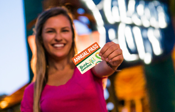 Annual Pass Members get great benefits like free parking, idsocunts, special events and more at Busch Gardens Tampa Bay