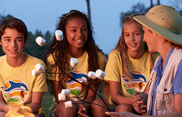 5-9 Overnight Camps at Busch Gardens Tampa Bay