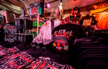 Shop Howl-O-Scream merchandise, souvenirs, and more at the Shop of Horrors.