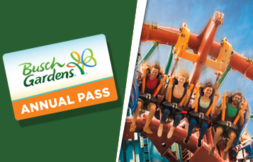 Annual Passes at Busch Gardens Tampa Bay Florida
