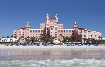 Book a Busch Gardens Tampa Bay Vacation Package at the Loews Don CeSar Hotel