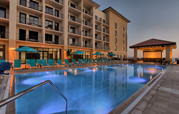 Book your stay at the Edge Hotel with a Busch Gardens vacation package.
