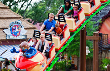 Ride Air Grover at Busch Gardens Tampa Bay
