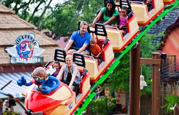Ride Air Grover at Busch Gardens Tampa Bay