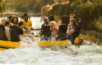 Ride Congo River Rapids at Busch Gardens Tampa Bay
