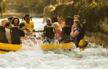 Ride Congo River Rapids at Busch Gardens Tampa Bay