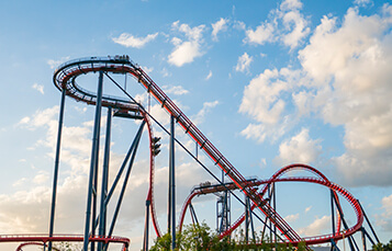 Ride SheiKra at Busch Gardens Tampa Bay