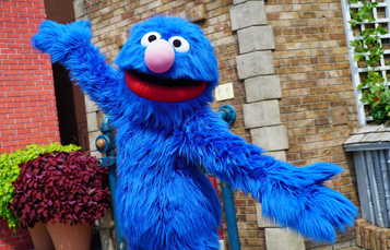 Grover from Sesame Street