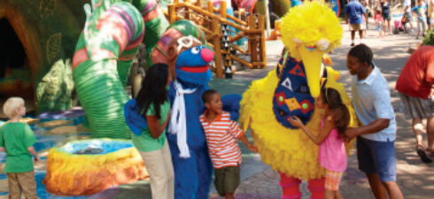 Visit Sesame Street Safari of Fun at Busch Gardens Tampa Bay