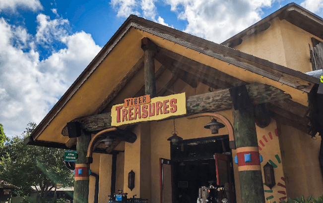 Tigers Treasures at Busch Gardens Tampa Bay