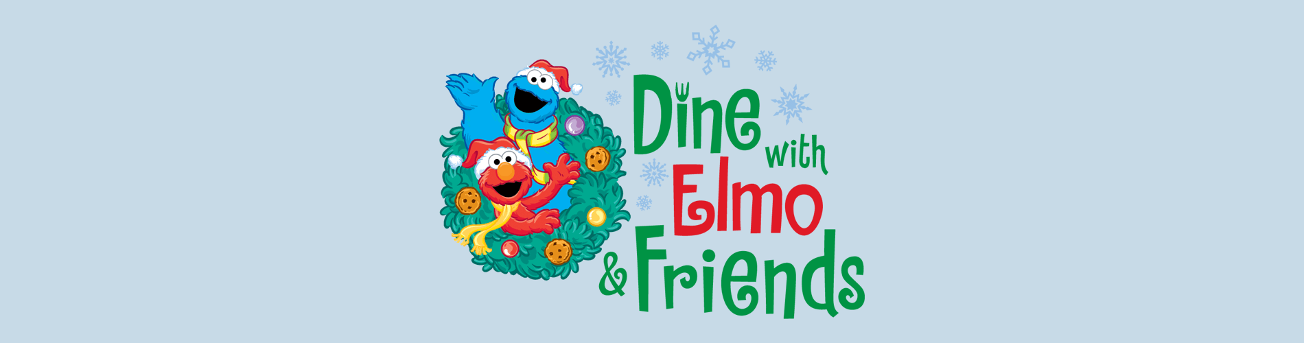 Christmas Town Dine with Elmo and Friends