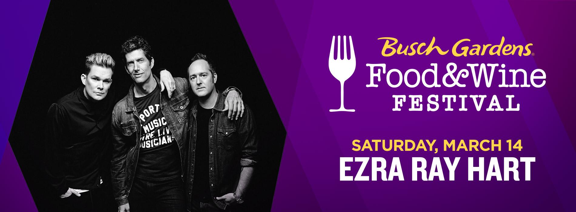 Ezra Ray Hart at Busch Gardens on Saturday, March 14
