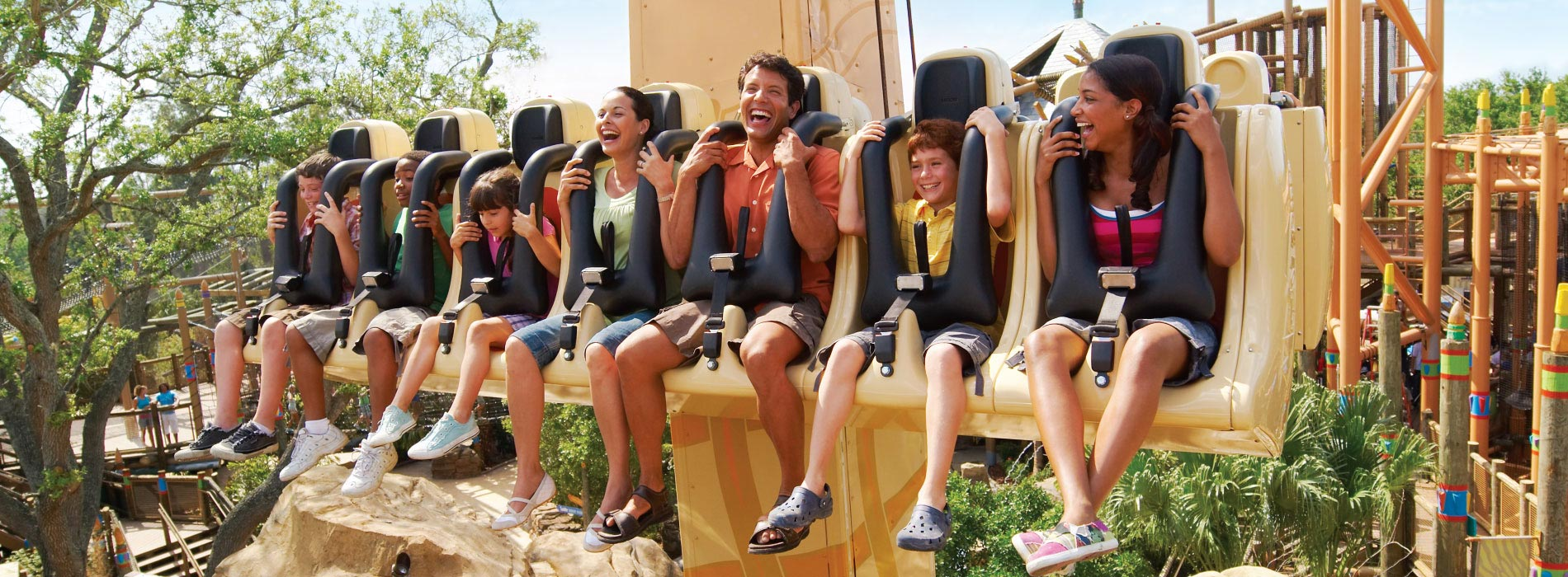 Ride the Wild Surge at Busch Gardens Tampa Bay
