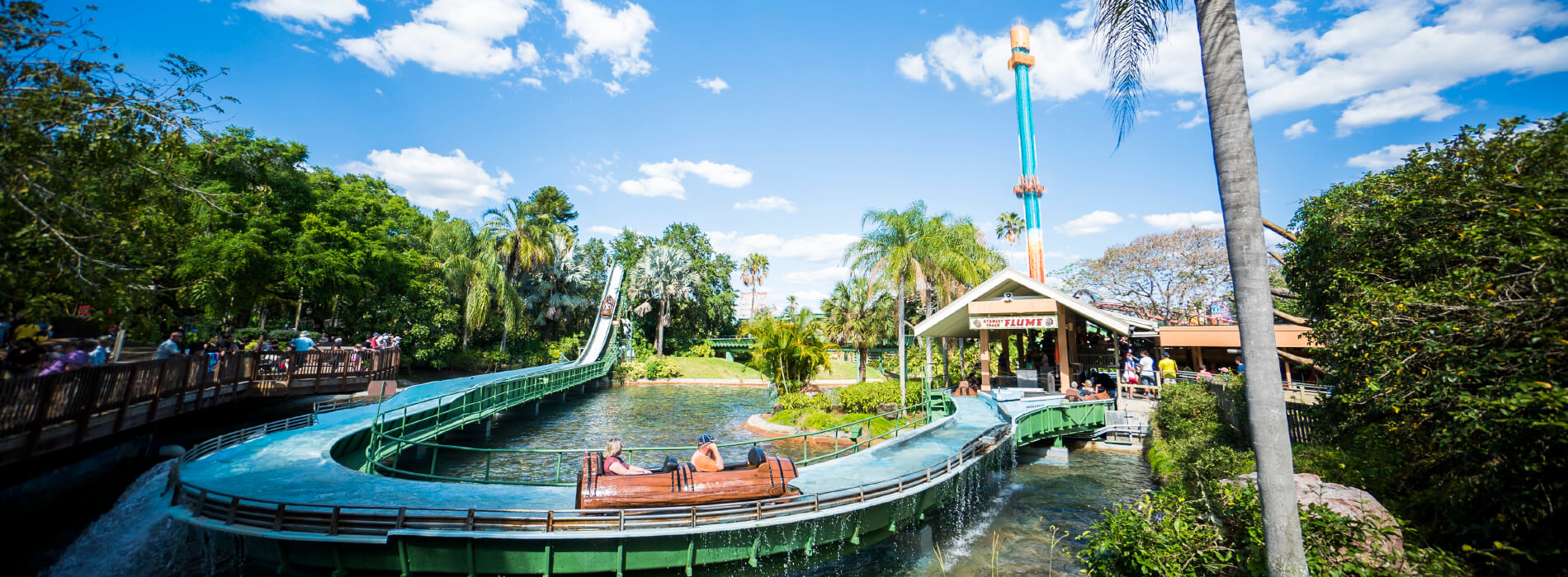 Ride Stanley Falls at Busch Gardens Tampa Bay