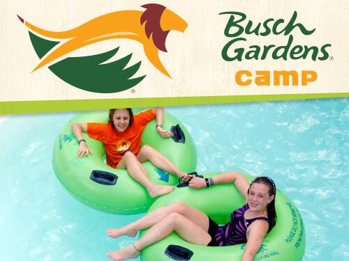 Splash Seekers Camp at Busch Gardens Tampa Bay