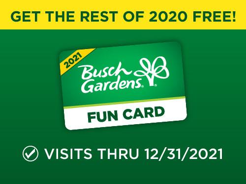 Busch Gardens Fun Card Deal