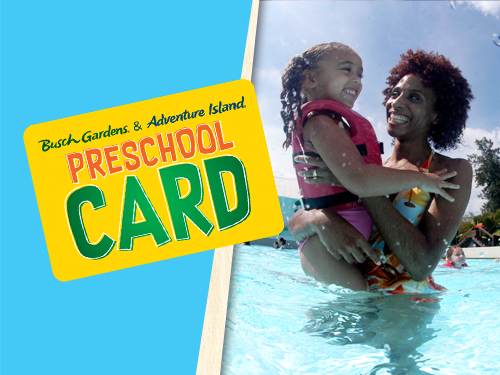 Free admission with a Preschool Card