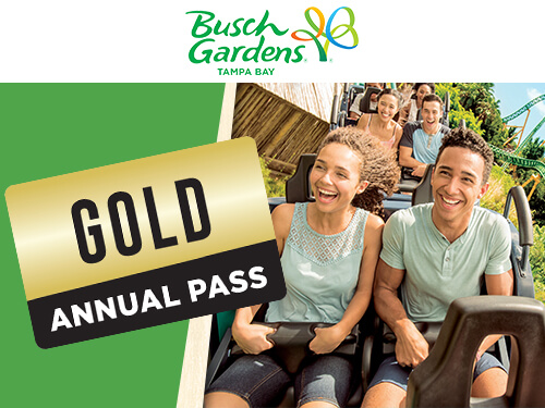 Busch Gardens Tampa Bay Gold Annual Pass