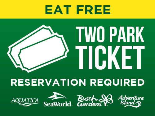 Eat Free Two Park Ticket Reservation Required