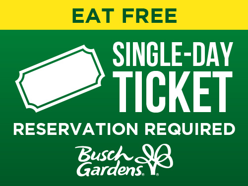 Eat Free Single-Day Ticket Reservation Required