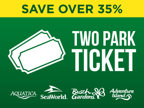 Save Over 35% Two Park Ticket