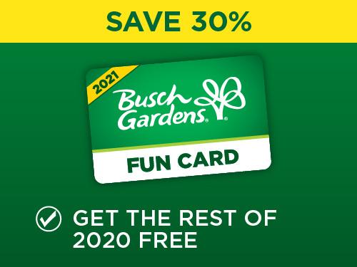 Busch Gardens Black Friday Sale Fun Card