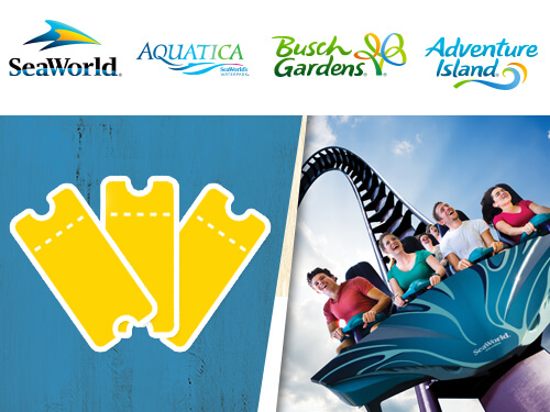 3 Park Tickets to Busch Gardens Tampa Bay