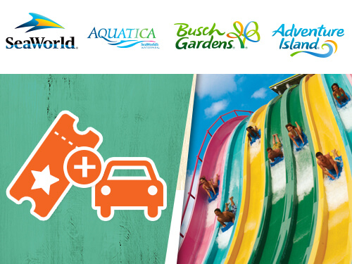 4 Park Tickets to Busch Gardens Tampa Bay