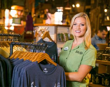 Employee at Busch Gardens Tampa Bay