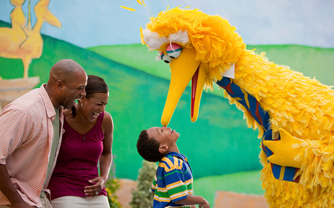 Meet Sesame Street friends at Sesame Street Forest of Fun