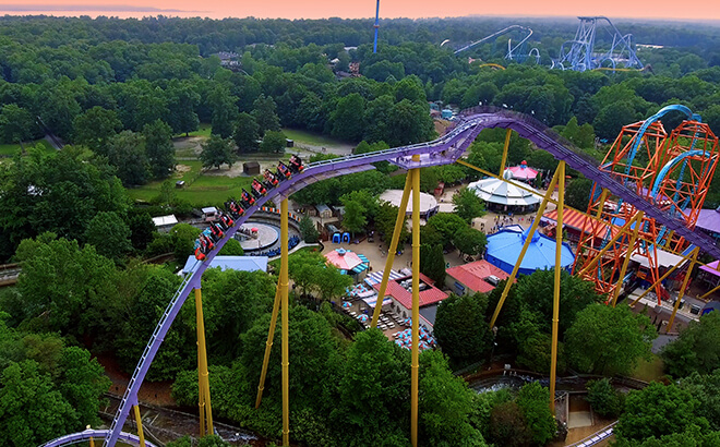 Ride Apollo's Chariot and other world-class coasters at Busch Gardens Williamsburg