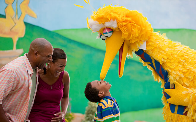 Stop by Sesame Street Forest of Fun for kid-friendly fun