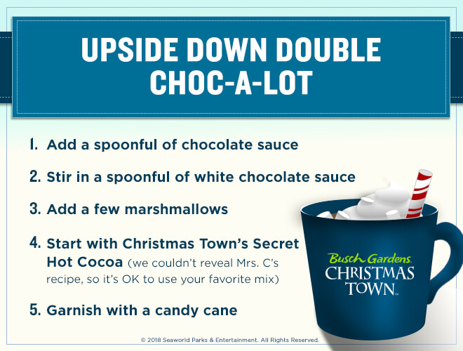 Upside Down Double Choc-a-lot hot cocoa recipe