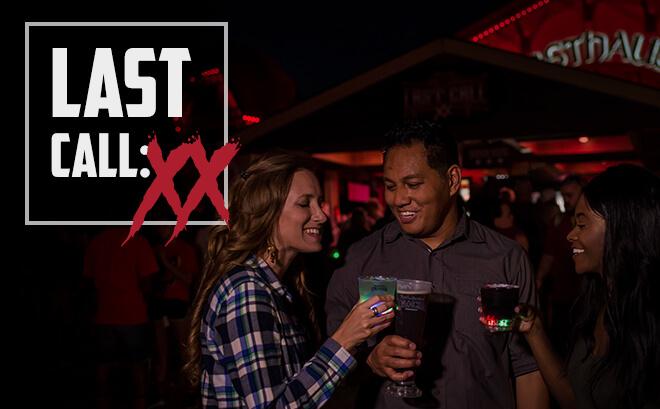 Last Call: XX Halloween bar for 20th anniversary of Howl-O-Scream