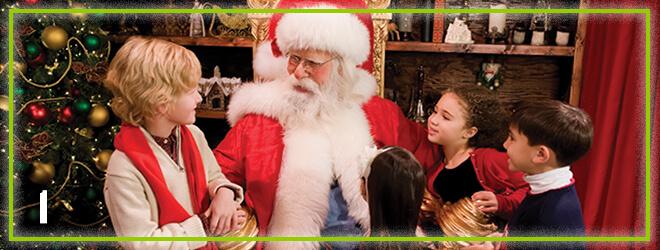 Meet Santa Claus at Santa's Workshop