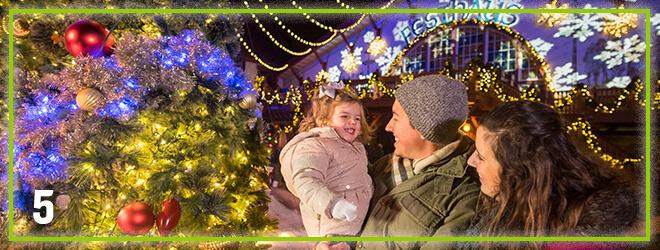 O' Tannenbaum Christmas light show