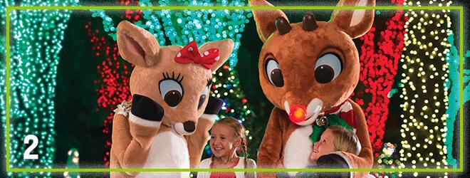 Meet Rudolph and friends at Rudolph's Winter Wonderland