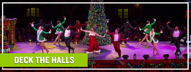 Deck the Halls family-friendly holiday show