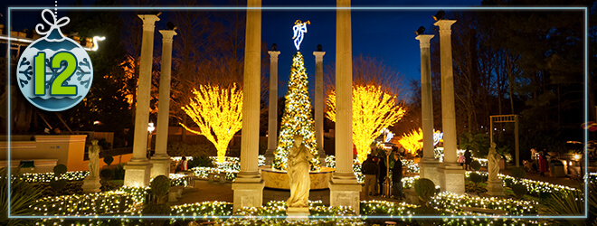 Italy Gardens lights up the night at Christmas Town