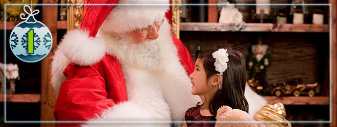 See Santa and take Christmas photos with him at Busch Gardens Williamsburg