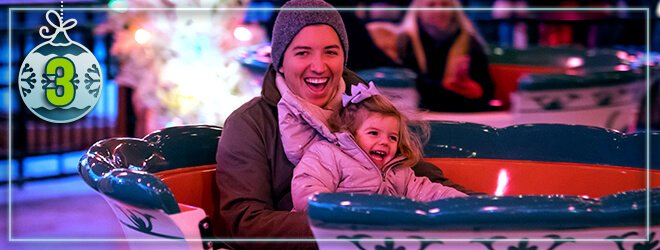 Take a ride on our tea cup ride