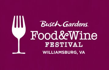 Chef demonstrations featuring professional guest chefs at Food & Wine Festival