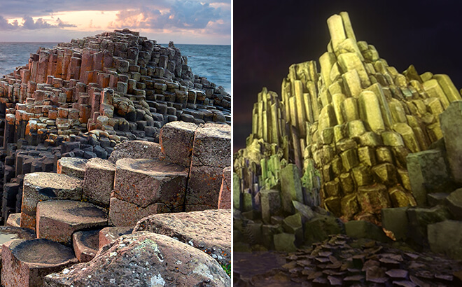 Giant's Causeway in Ireland vs. Battle For Eire
