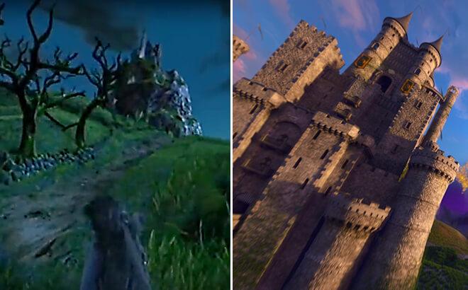 Ireland castle in Corkscrew Hill vs. Battle For Eire