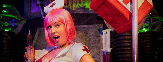 Themed Halloween bars at Busch Gardens Williamsburg