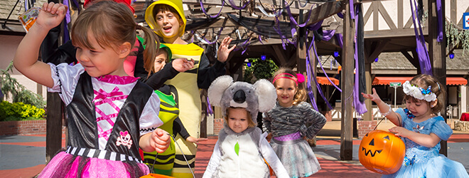 Kids under 9 can dress up in their favorite Halloween costumes for The Count's Spooktacular